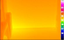 hőkamerás felvétel